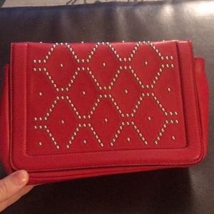 ZARA Red Leather Bag!